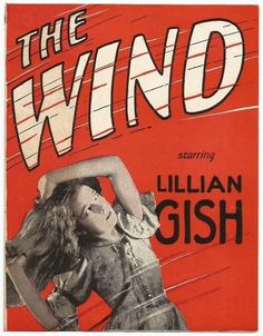 Film Masterpiece! The Wind (1928) Lillian Gish, Lars Hanson