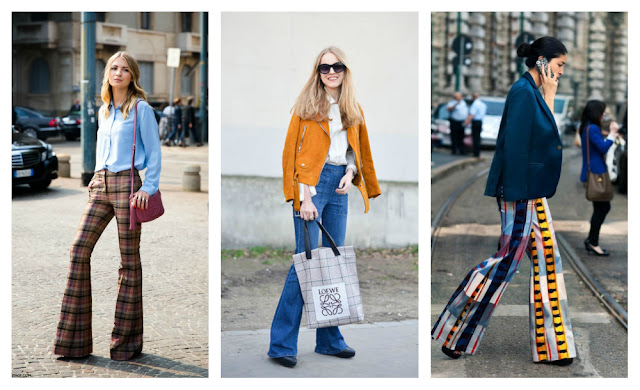 The Classy Fancy: Autumn trend: 70's flared jeans