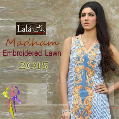 Lala Textiles Madham Embroidered Collection 2015 Vol-1