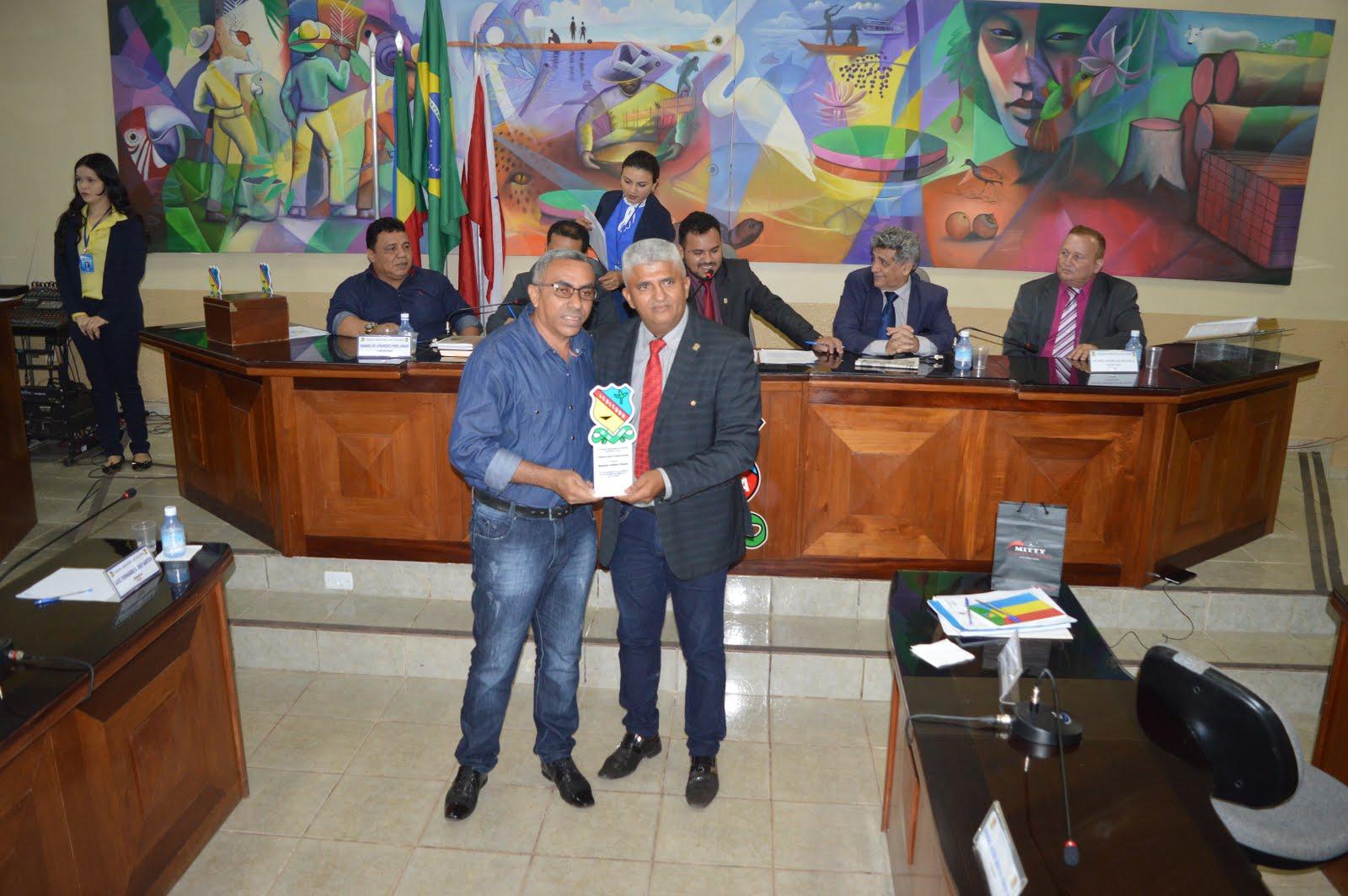 Um Justo reconhecimento da câmara de vereadores de Itaituba