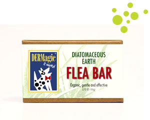 DERMagic Organic Diatomaceous Earth Flea Bar