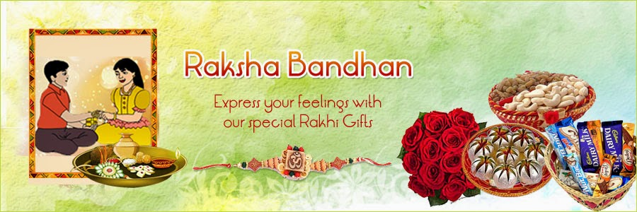 Express your feelings with our special Rakhi Gifts