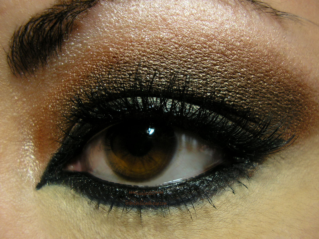 Kristine Blogs New Smokey Eyes Makeup