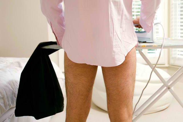 """Ball Ironing"" Latest Hollywood Trend for Smooth Testicles"