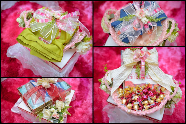 DIY engagement pertunangan
