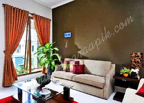 ruang tamu minimalis cantik