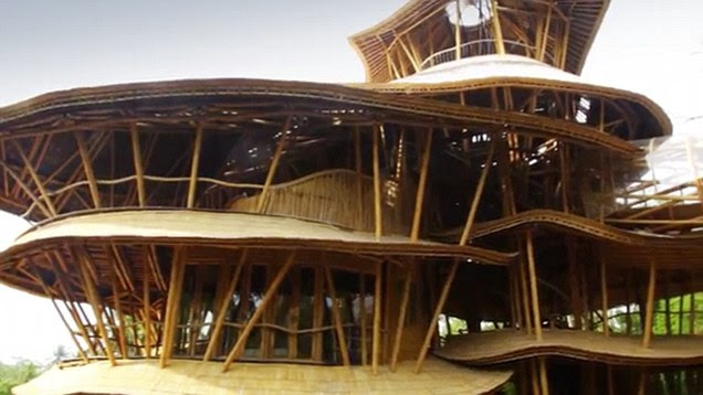 les techniques de constructions bambou les empreintes du voyage. Black Bedroom Furniture Sets. Home Design Ideas