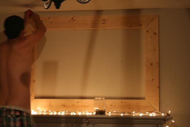 DIY Fireplace / Mantel Makeover!  Nest of Bliss