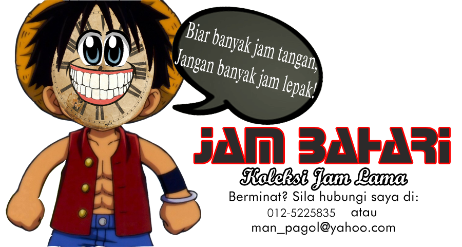 JAM BAHARI : vintage watch collection