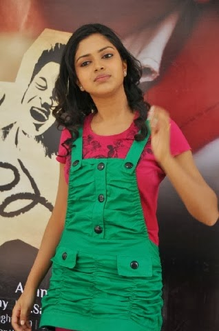 Amala Paul in green dress hot hd pics