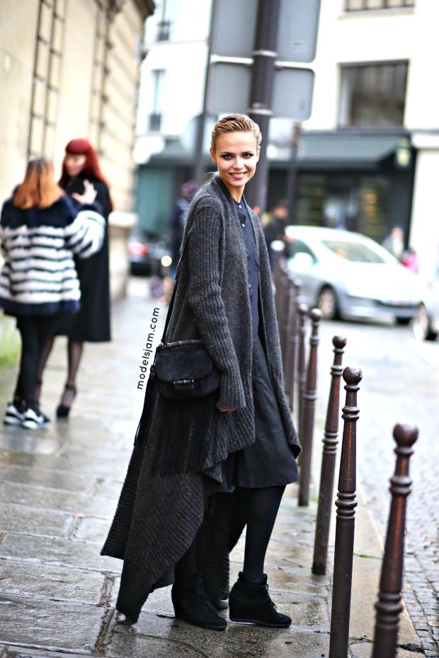Natasha Poly, Paris, January 2015