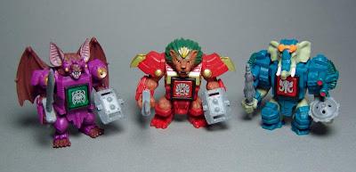 Takara/Tomy's Beast Saga Figures