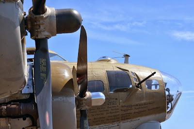 B-17 propellers