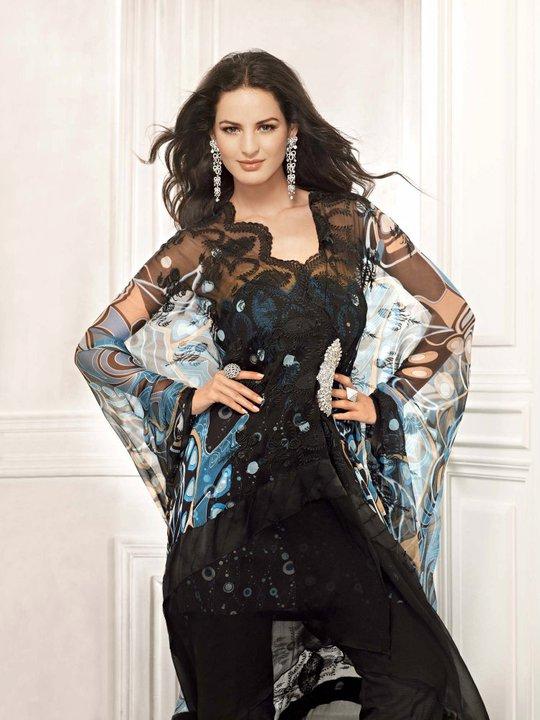 Gul Ahmed Eid Girls Dress Collection 2011