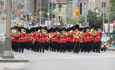 'CHANGING OF THE GUARDS', OTTAWA
