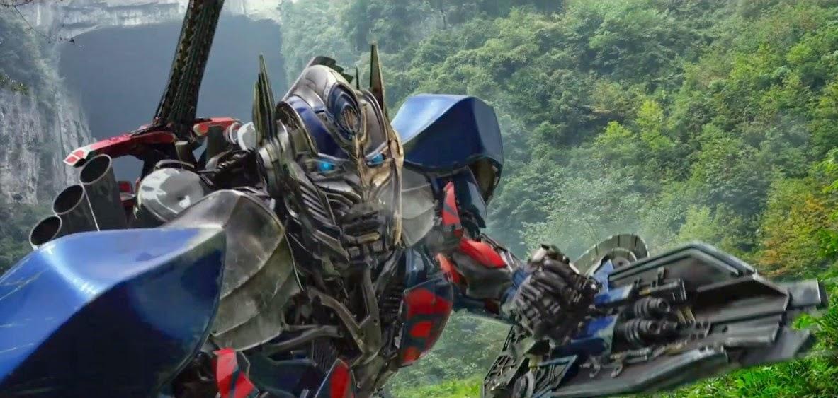 Optimus Prime, Bumblebee e Bingbing Li em pôster e imagens inéditas de Transformers: A Era da Extinção