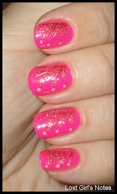 color club pink lust poptastic wednesday manicure