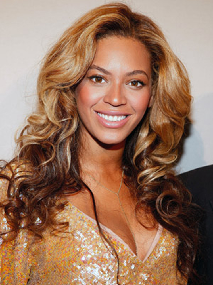 Popular Celebrity Curly Hairstyles Beyonce Knowles