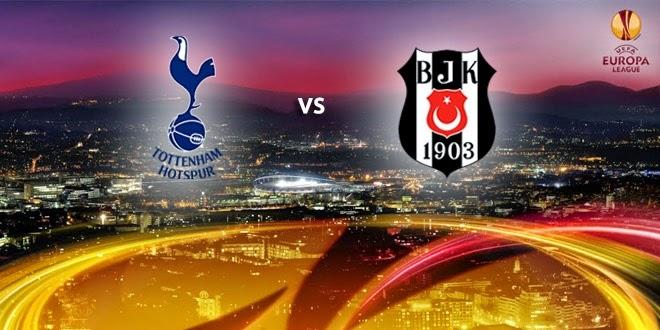 Poker Online : Prediksi Skor Besiktas vs Tottenham Hotspur 12 Desember 2014