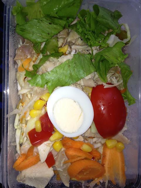 Tastee Fried Chicken Salad