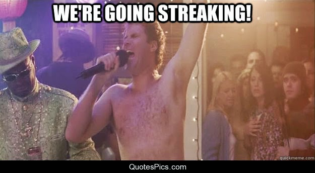 Post-Game 83 Thread: We're Going Streaking (Of A Different Sort)