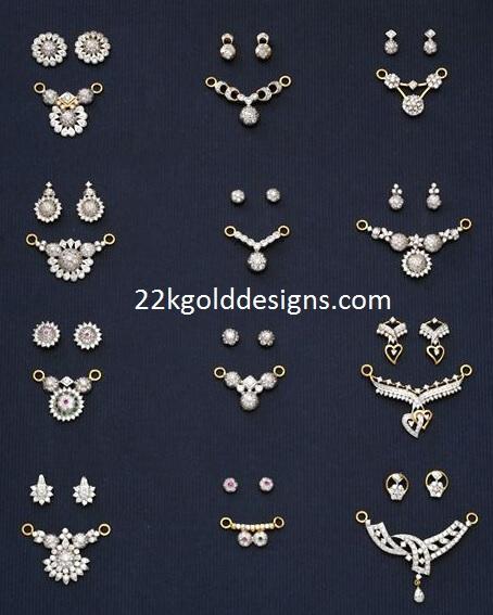 Mangalsutra diamond pendant designs 22kgolddesigns mangalsutra diamond pendant designs aloadofball Gallery