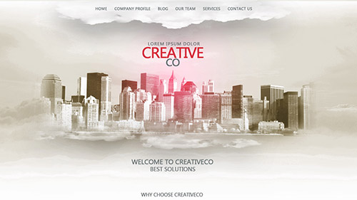 How To Make A Single Page Web Design In Photoshop