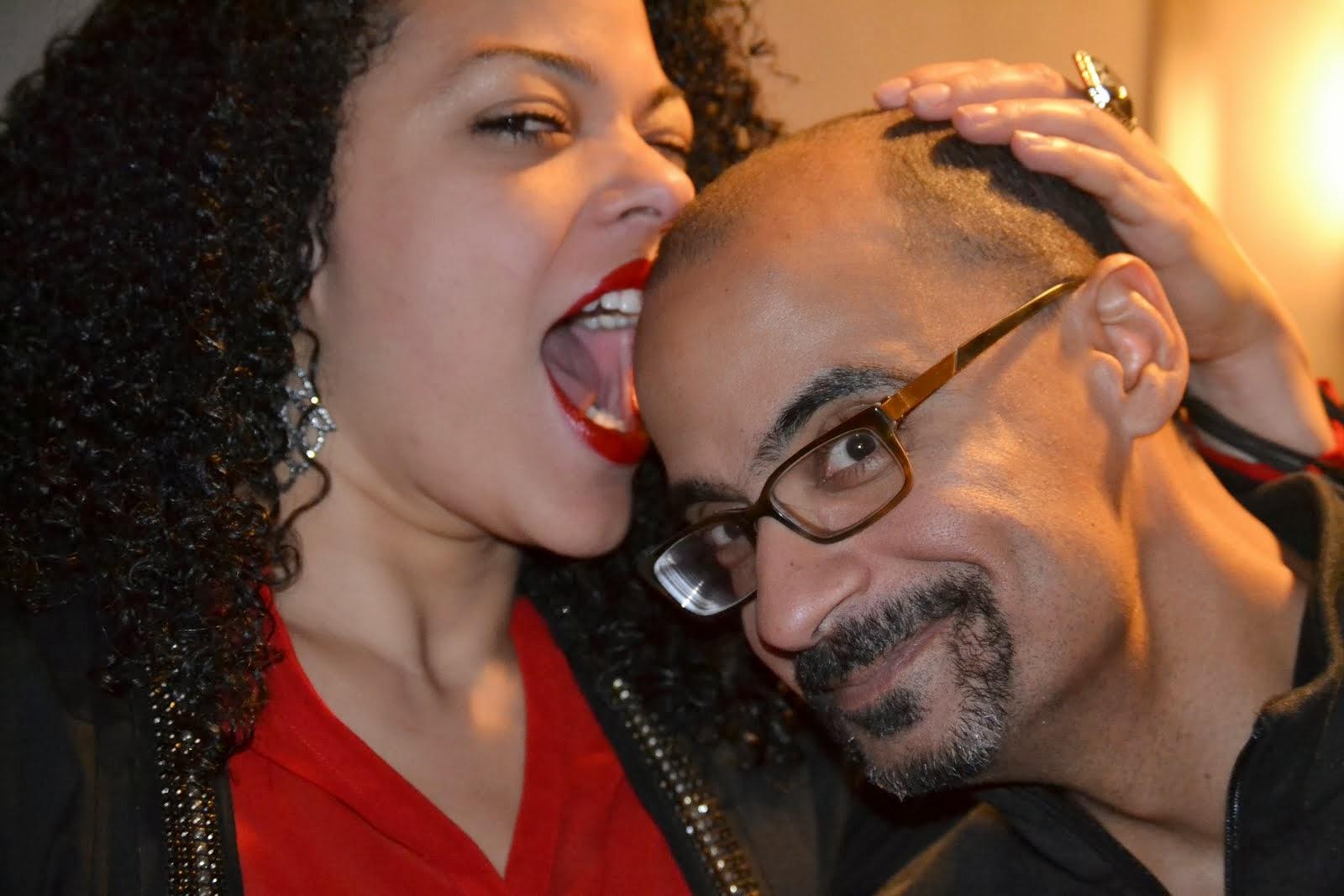 Con Junot Díaz @ Dartmouth (oct. 2013)