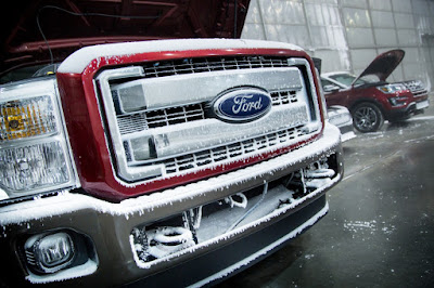 Ford Vehicles Brave the Coldest Climates Without Issue