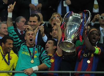 Barcelona Levanta su cuarta copa de Champions