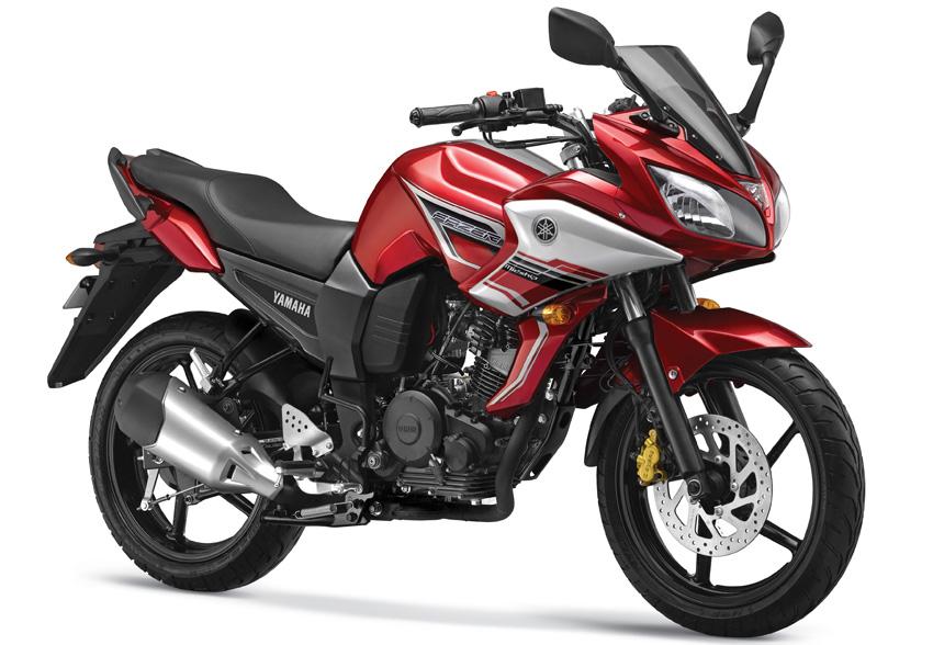 2013 Yamaha Fazer Rising Red