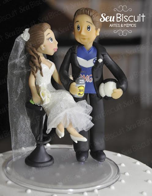 topo de bolo, casamento, belo horizonte, personalizado, minas gerais, biscuit, encomenda