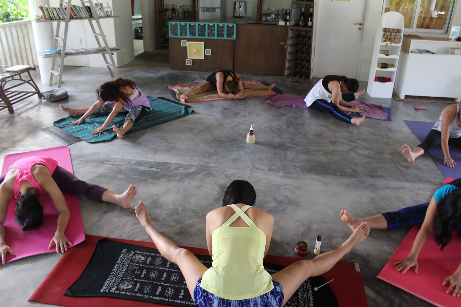 What went on flow bohol retreat 2015 the next morning we did an energizing sequence to greet the sun before breakfast spot the nursing yoga mama kristyandbryce Images