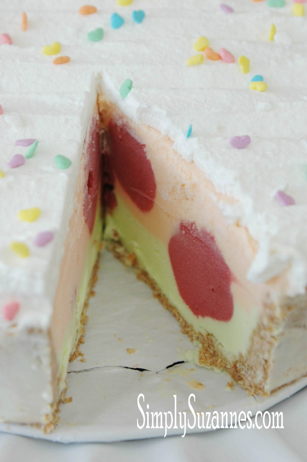 how to prepare ice cream cake at home