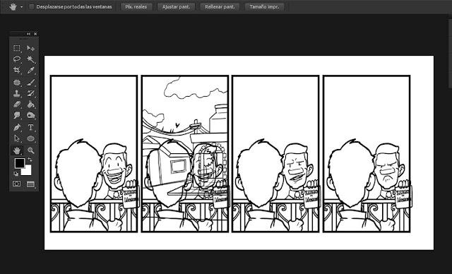 Tutorial: Cómo dibujar un cómic con Photoshop   El blog de Carlos Mal