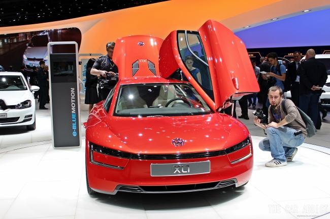 Geneva Motor Show 2013 Gallery: Volkswagen XL1
