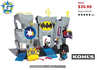 Imaginext Batcave original variant exclusive Kohl's Black Friday sale cheap Batman Fisher-Price アメコミ イマジネックスト
