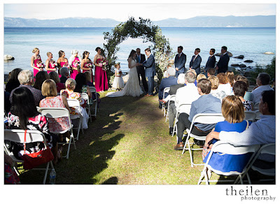 Ehrman Mansion Tahoe Wedding Ceremony l Theilen Photo l Take the Cake Event Planning