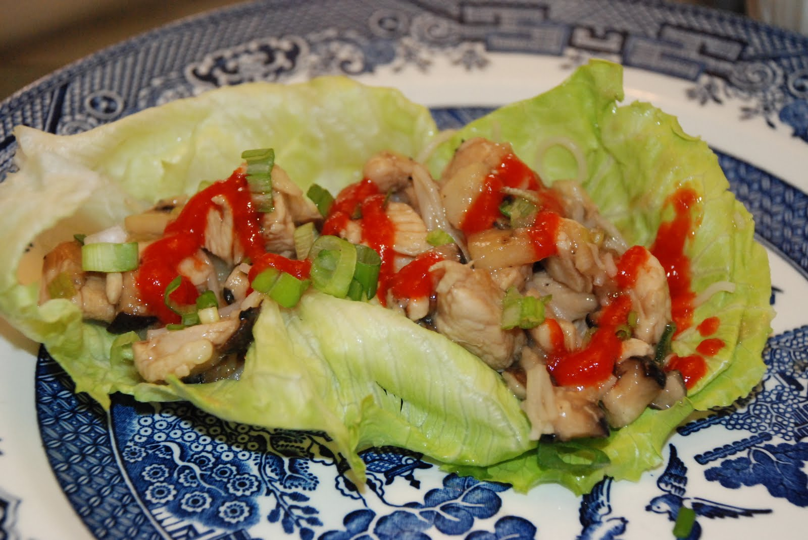 Life is Delicious: Asian Chicken Lettuce Wraps