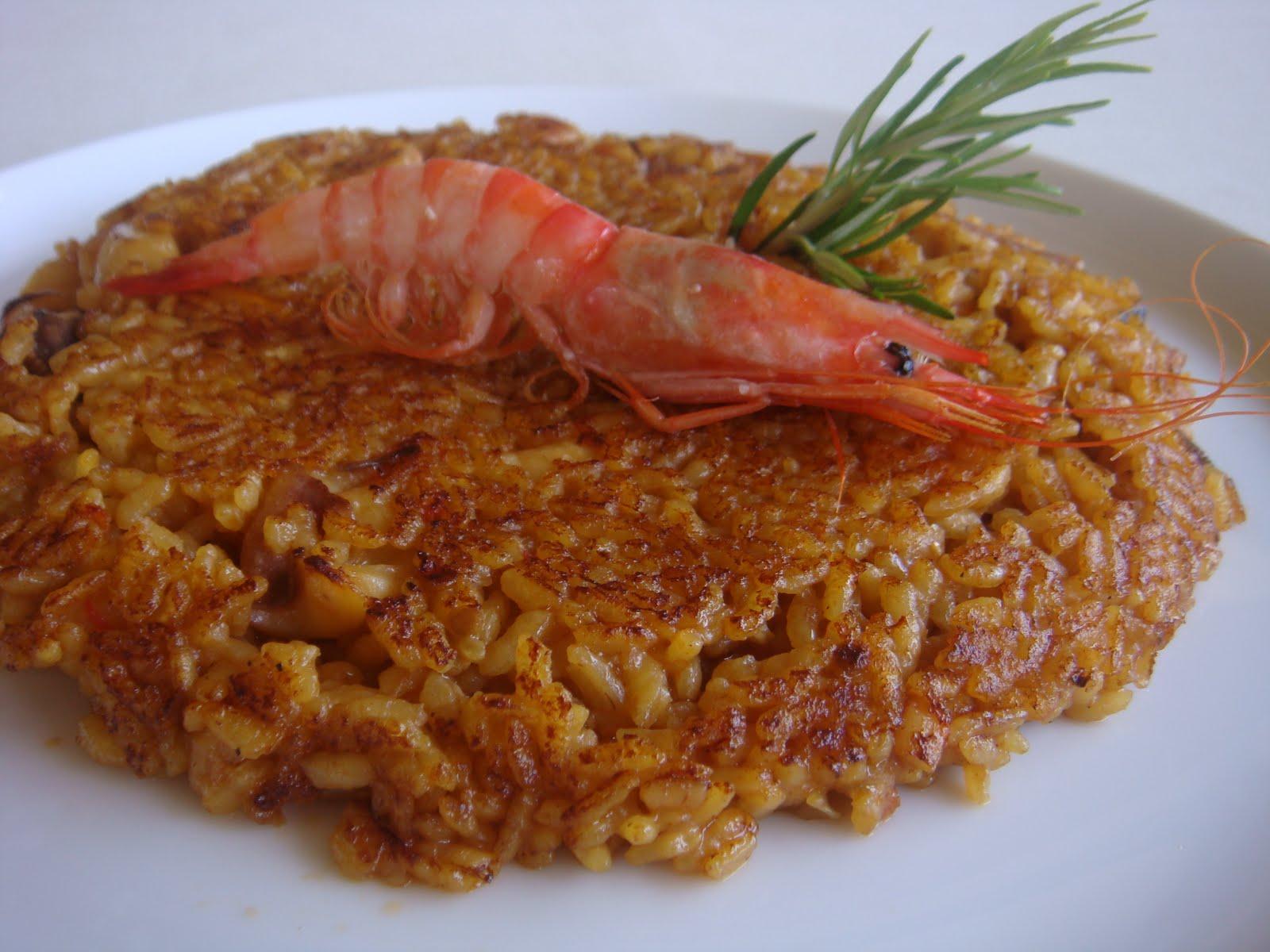 Cocinar Gambas | Arroz Socarrat De Gambas Y Sepia The Spanish Food