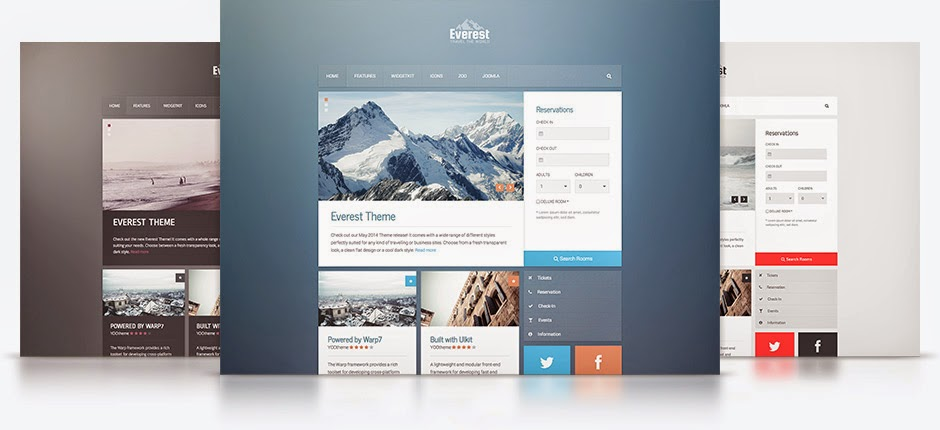 Everest v1.0.0 - Yootheme Wordpress Theme