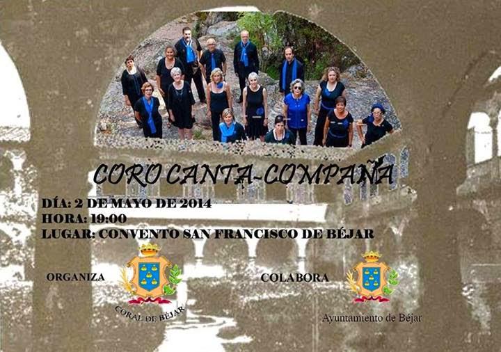 2/mayo.Concierto coro Canta-Compaña. Béjar