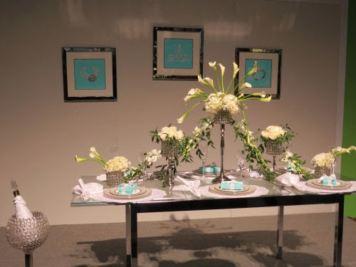 Philadelphia Flower Show 2105- Tables: Breakfast at Tiffany's