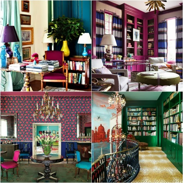 Home Decor Jewel Tones