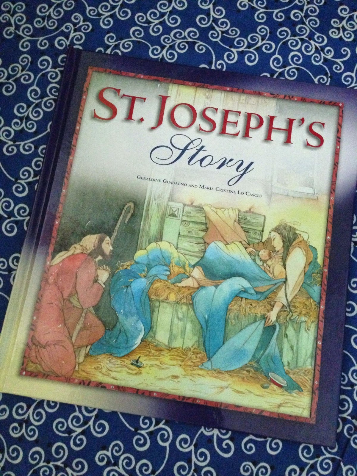 http://www.amazon.com/St-Josephs-Story-Geraldine-Guadagno/dp/1593251734
