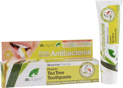 dr organic pasata de dientes aceite árbol del té