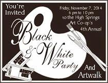 Black & White Party and Artwalk