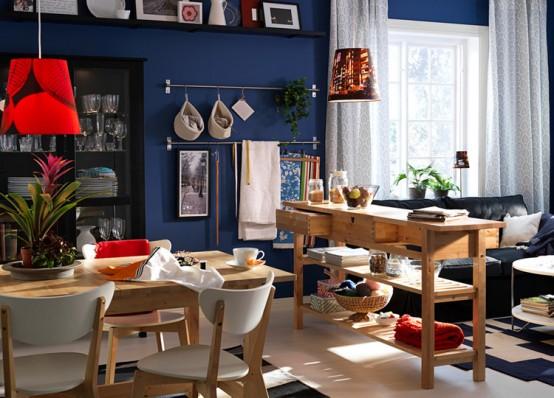 Western Home Decorating Design Ideas 2011 Ikea Dining Room And - 2011-ikea-dining-room-designs-ideas