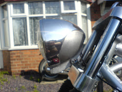 EARLY PROTOTYPE HEADLAMP