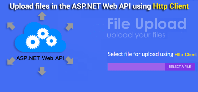 Part 6 - How to upload files in the ASP.NET Web API using Http Client